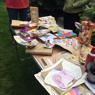 Collage & Release Mixer - July 24th - 1. Create a collage of anything weighing you down: bills, parking tickets, social media, politics, health issues, judgment - NO ARTISTIC EXPERIENCE NEEDED!2. After we collage, we'll have a fun and festive ceremony to let the bad vibes go and look into the future with a clear mind!3. Mix, mingle and get to know other Twist Tribe members!RSVP to Sonia to save your spot