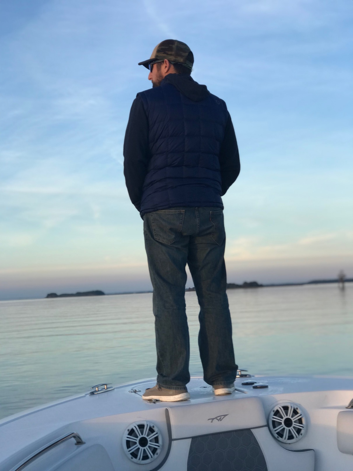 """When Shuckin' Shack co-founder, Matt Piccinin, isn't actively involved with the day-to-day operations of """"The Shack"""" you can find him spending time on the water with his family."""
