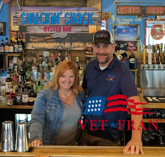 Jason Simas is both a veteran and a successful Shuckin' Shack franchisee for nearly four years!
