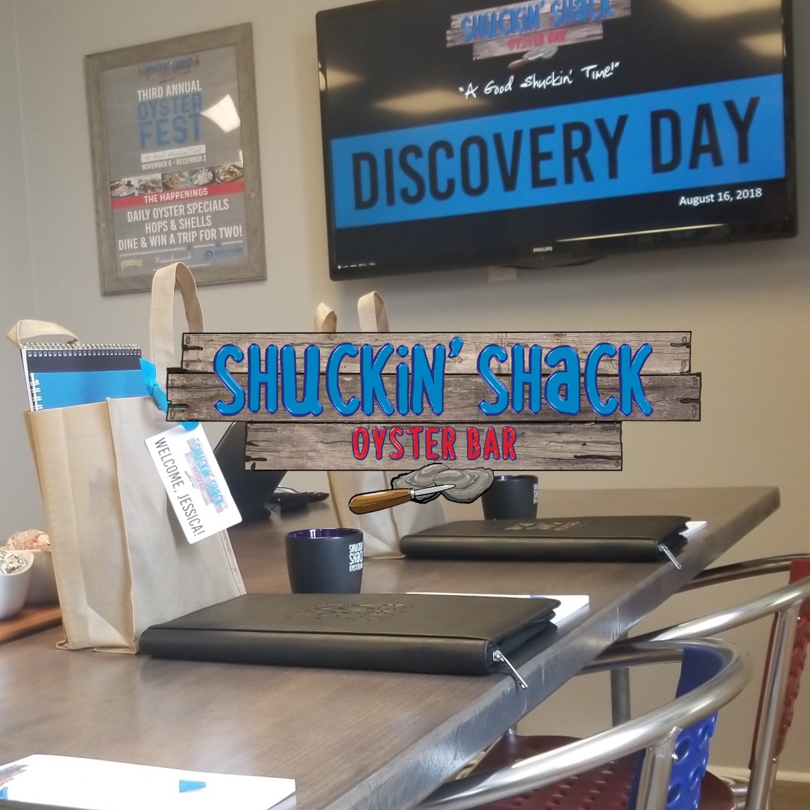 Our largest Shuckin' Shack Restaurant Franchise Discovery Day to date is happening this week!