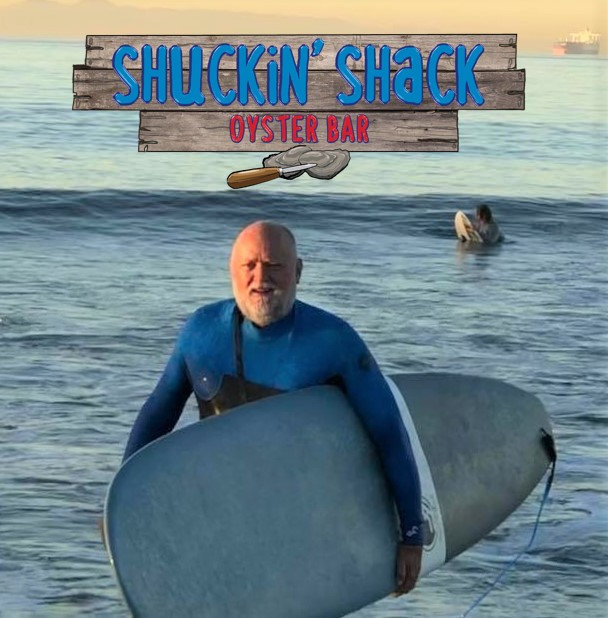 The new COO of Shuckin' Shack Franchising, Bill Bartlett, doesn't just talk about the beach lifestyle!