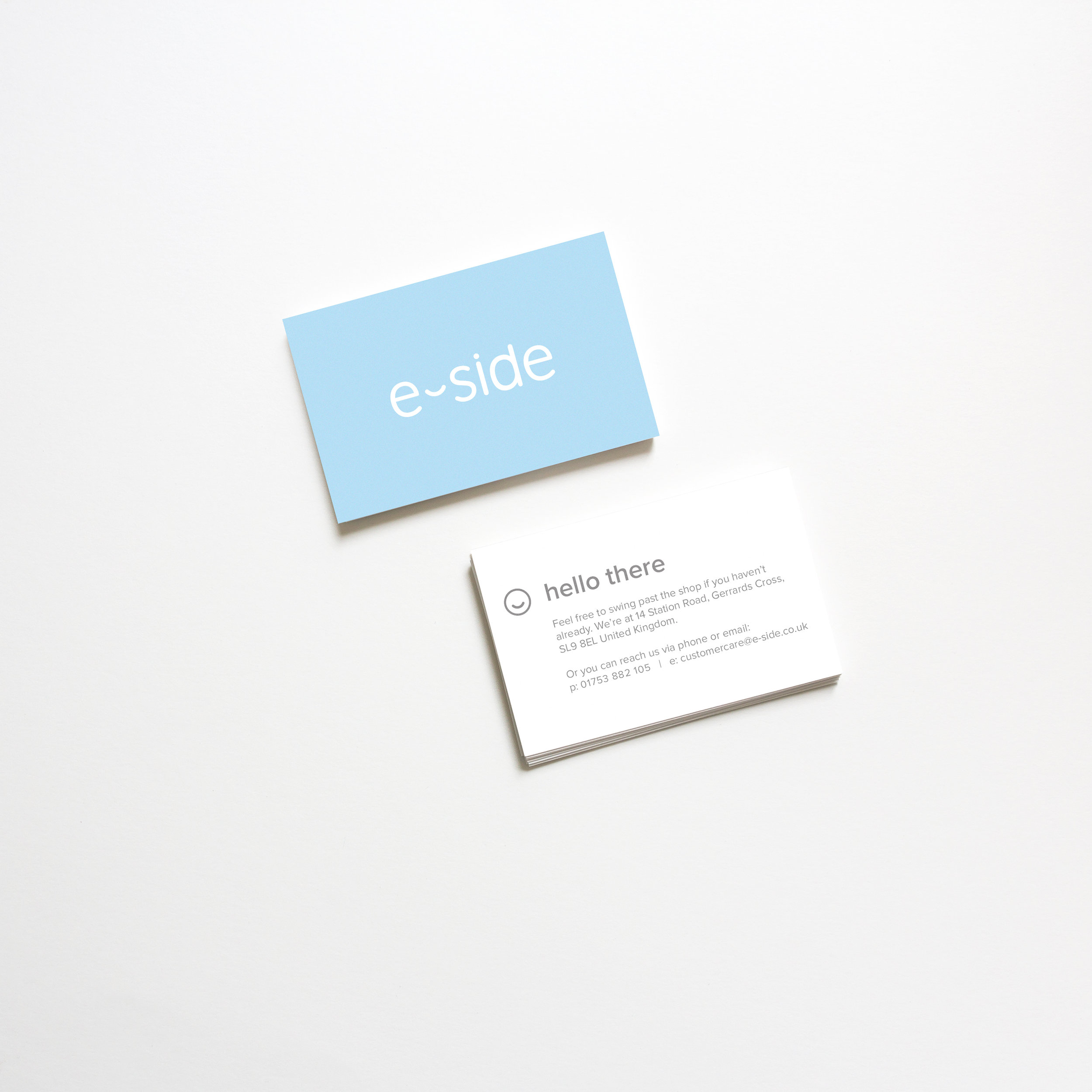 Simple, effective logo design and business card.