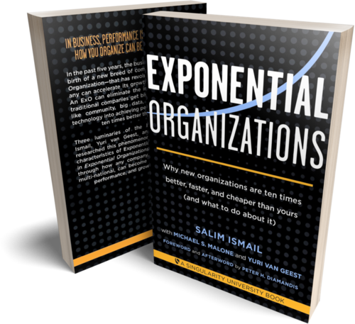 Exponential Organizations Book — OpenExO | Transforming the world for a  better future