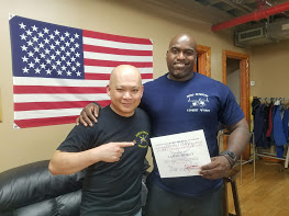 Recently I received a coaching credential  in the Doce pares Kali system under coach Mayo.