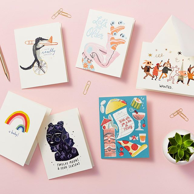 🌈 GIVEAWAY 🌈⁣ I'm excited to share that I recently worked with @compendiumliveinspired on their brand new greeting card line, Love Muchly! To celebrate the release of Love Muchly, Compendium is giving away the entire card line to one lucky follower (that's 63 greeting cards)! To enter the giveaway, visit @compendiumliveinspired's page! ⁣ ⁣ #lovemuchly #compendiumliveinspired #greetingcards #greetingcard #greetingcarddesign #illustration #giveaway