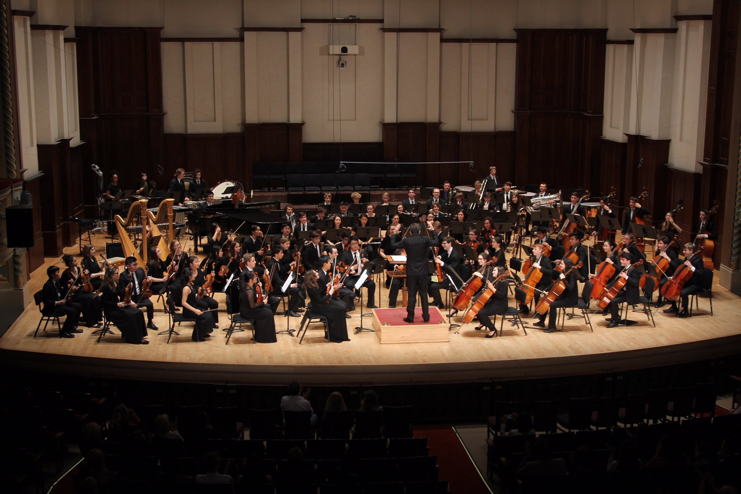 Detroit Symphony Youth orchestra - For Classical Strings, Winds, Brass, and Percussion