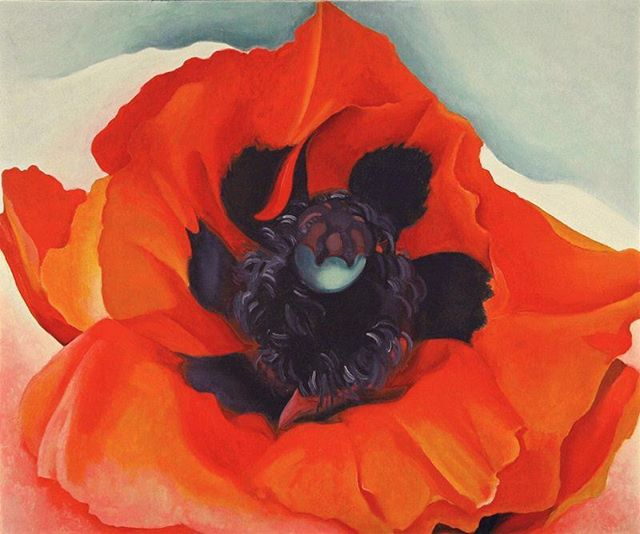 Join us next week for Thirsty Thursday! 🥂 We will be painting poppies inspired by the artist Georgia O'Keeffe 🥀