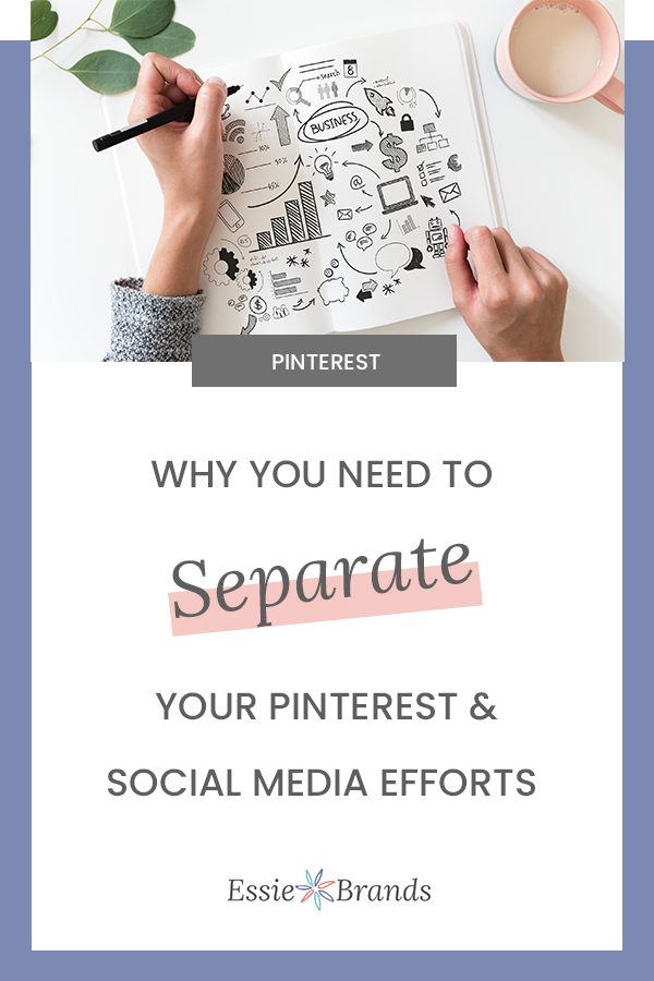 Why your Pinterest strategy should be separate from your social media strategy