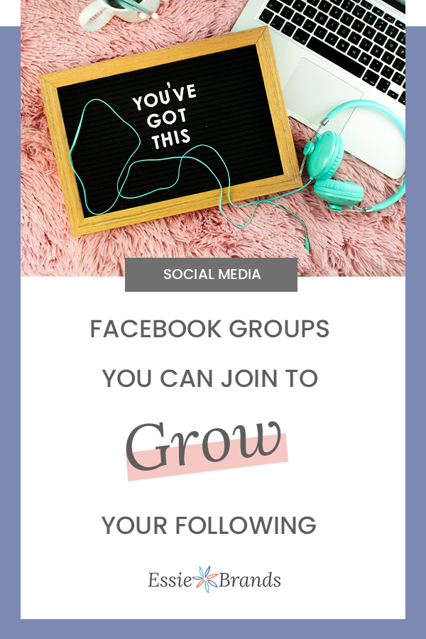 Facebook groups you can join to grow your following