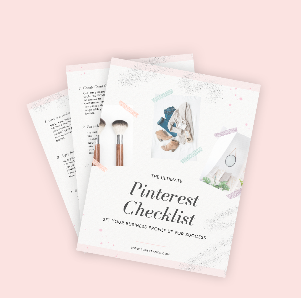 Pinterest Checklist for your Business Account