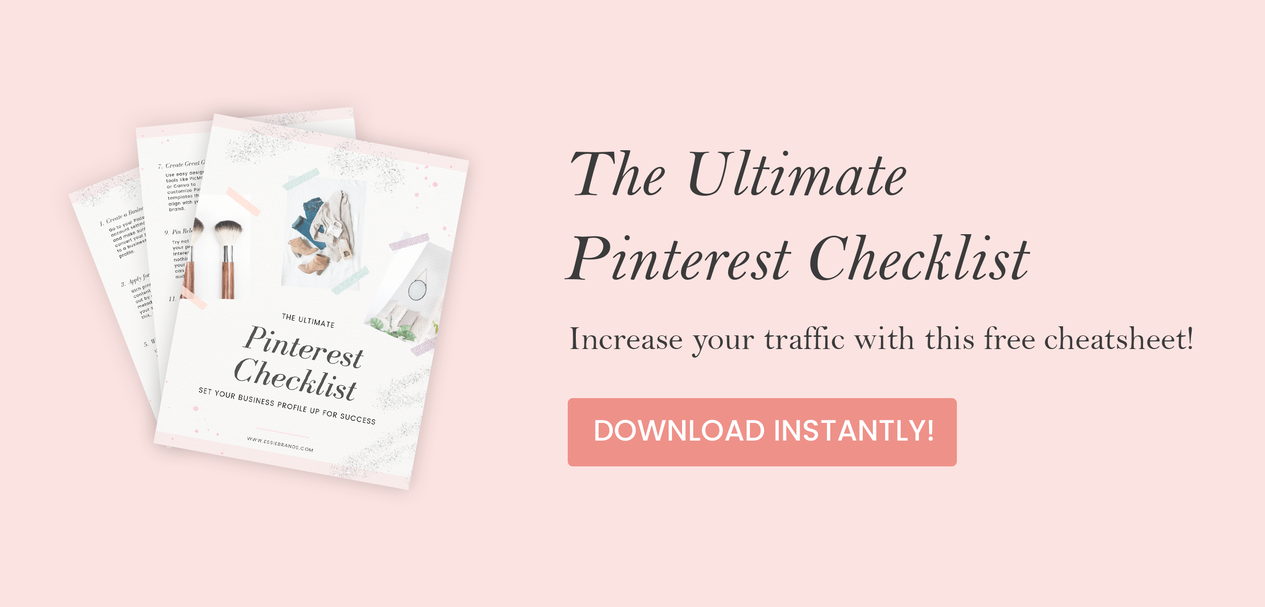 Grow your Pinterest profile with this handy checklist