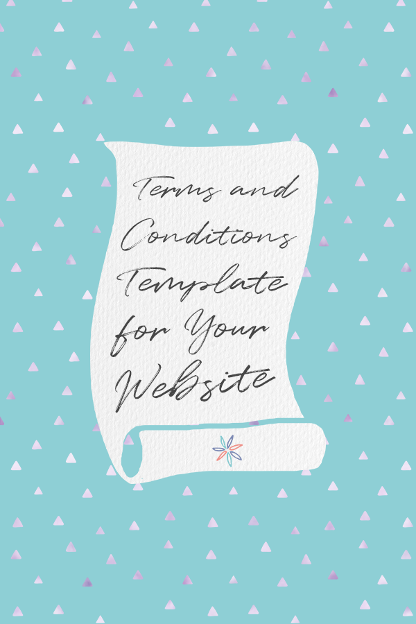 Terms and Conditions Template by ASelfGuru #Ad