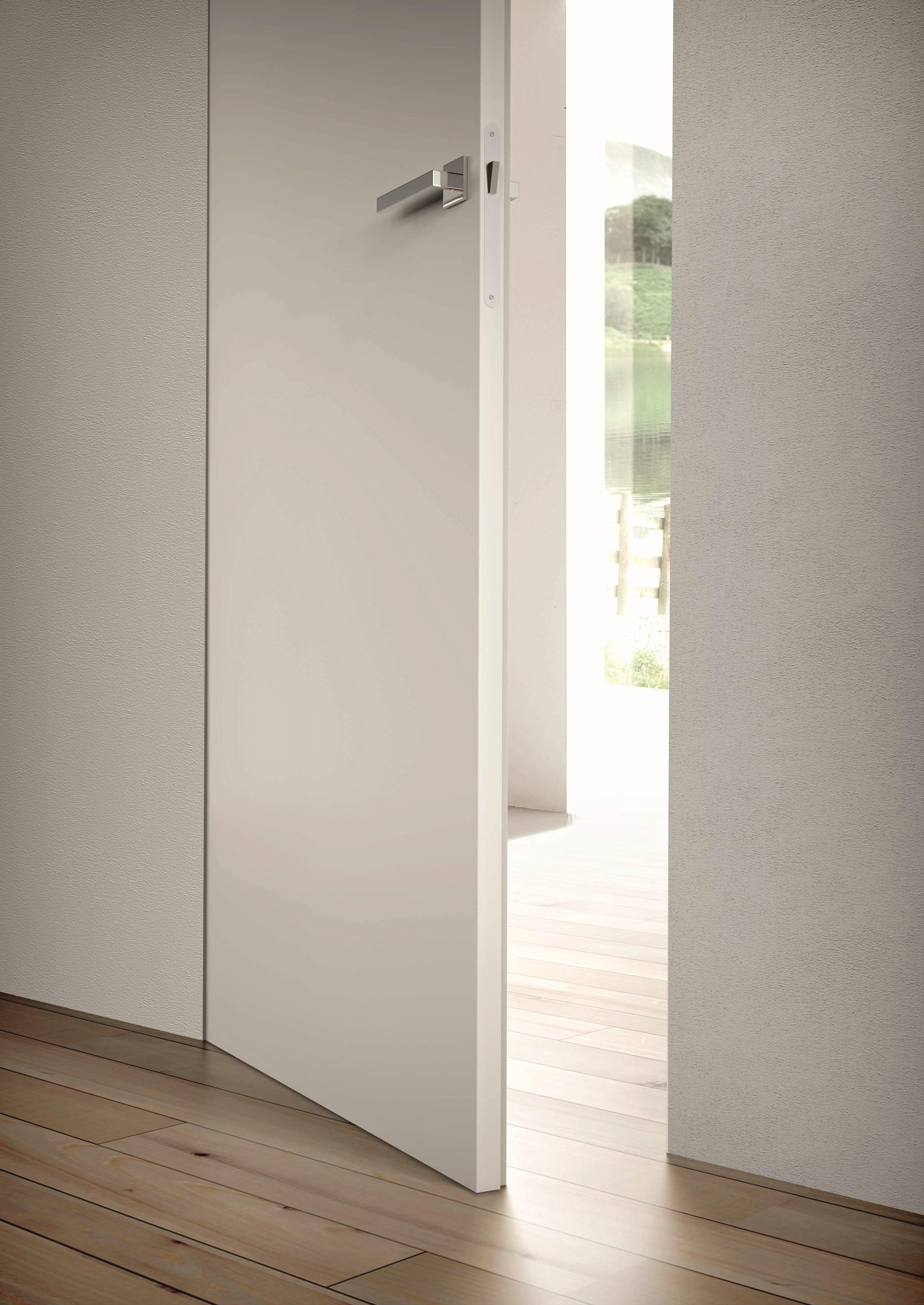 Porte sans cadre laqué blanc, frameless door white lacquered.jpg