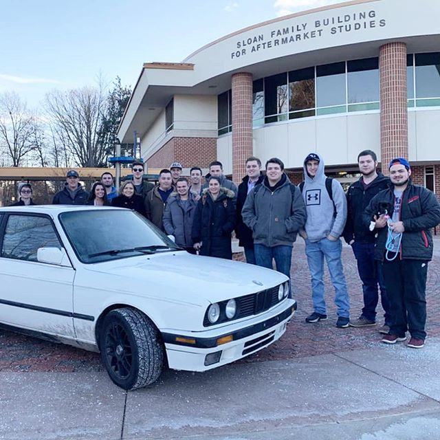 The NU Aftermarket Club were the Fall 2018 winners of Project 100. They used their generous donations from alumni to purchase an E30 BMW as their project to put their skills and knowledge to the test. Follow them along on their journey here: @nuaftermarket #northwoodu