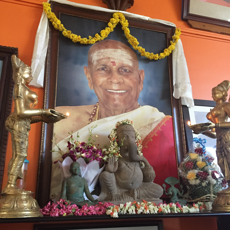 Pattabhi Jois Shrine at KPJAY Shala, Mysore, India