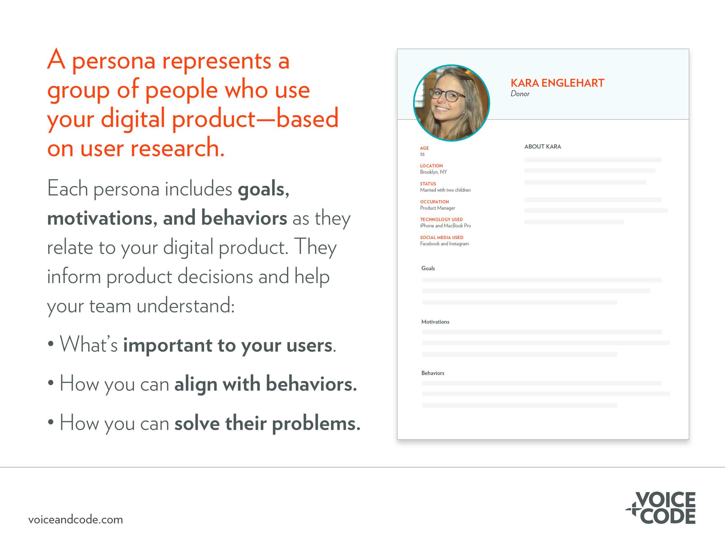 What is a UX persona?