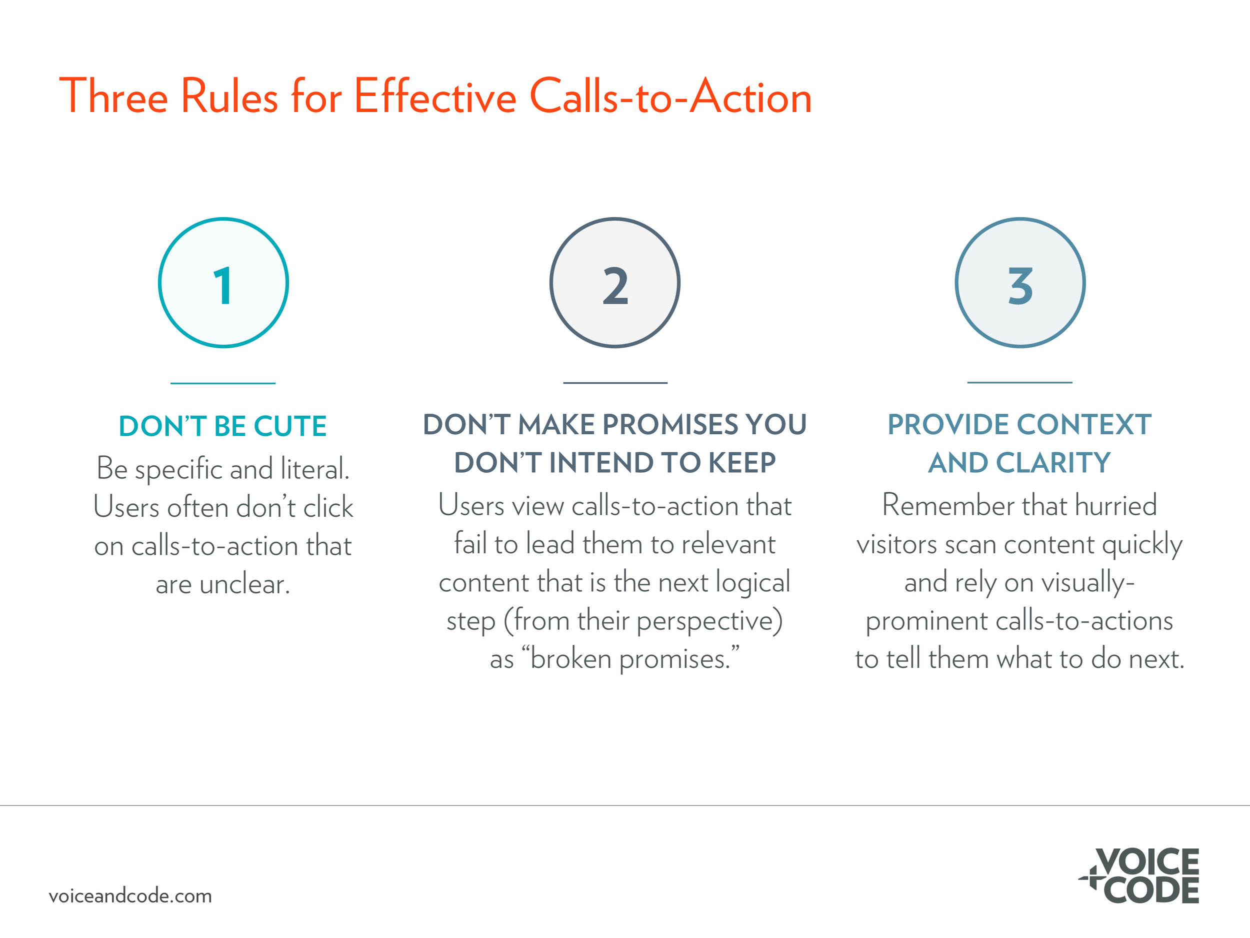 Effective Calls-to-Action