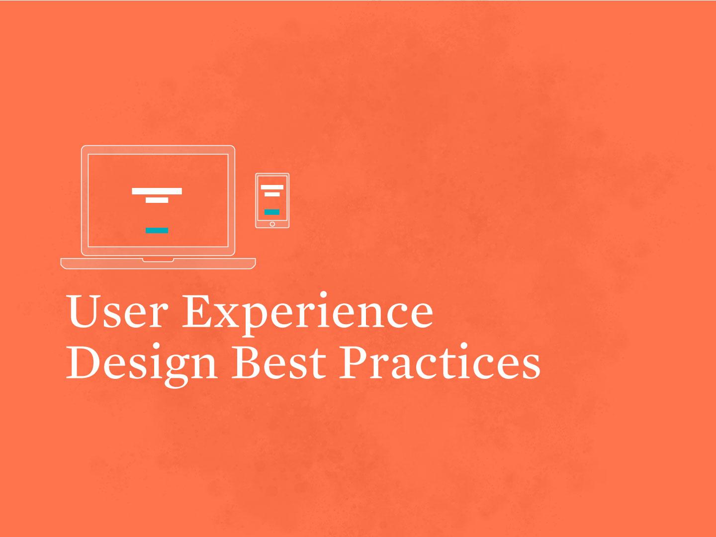 UX Workshop: UX Design Best Practices