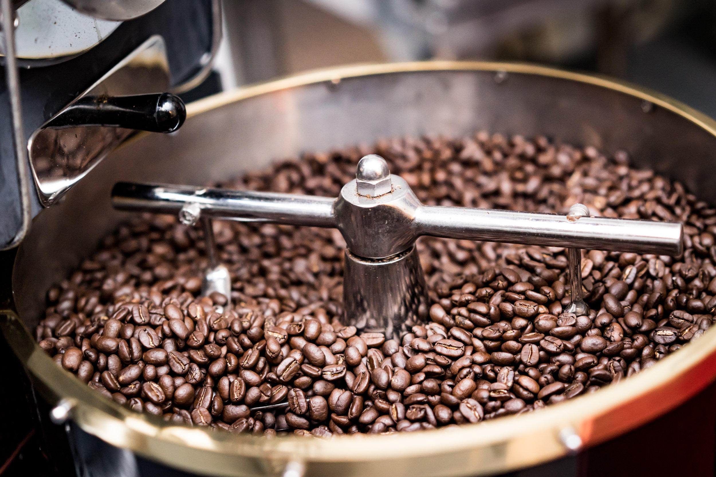 Flamjeaux Coffee roasting beans
