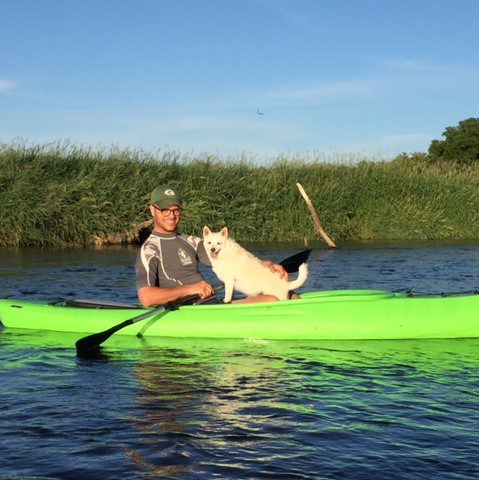 Kayaking with Trudy