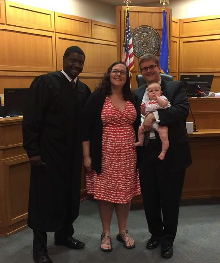 Happy Adoption Day, Taliyah!