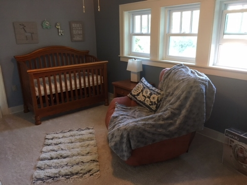 our future baby's nursery!