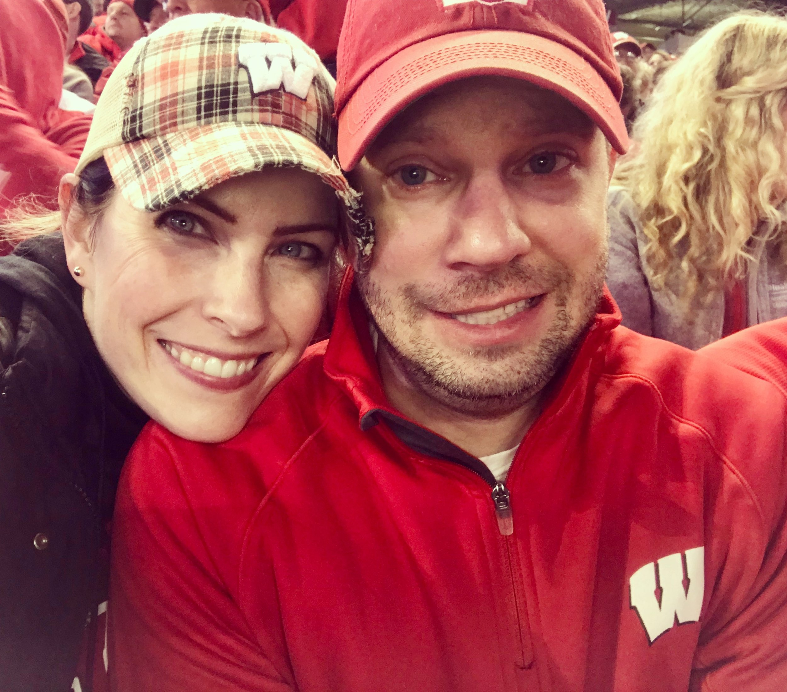 paul loves badger games and laura does too (especially the CONCESSIONS!)