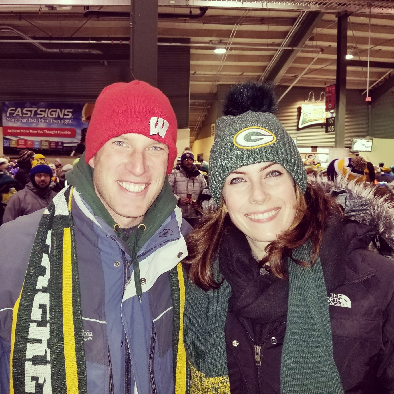 our families love the packers!