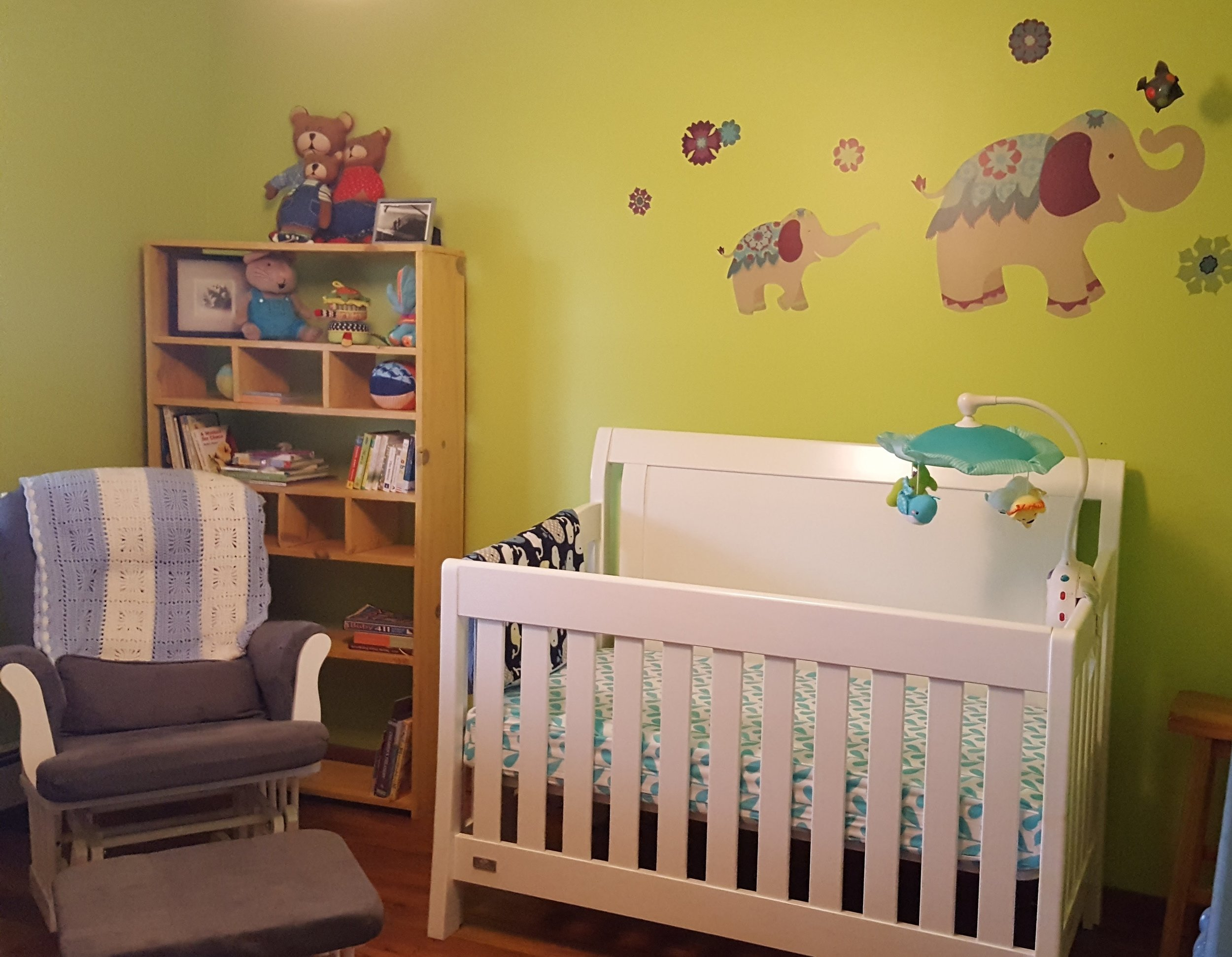 the nursery is all set up