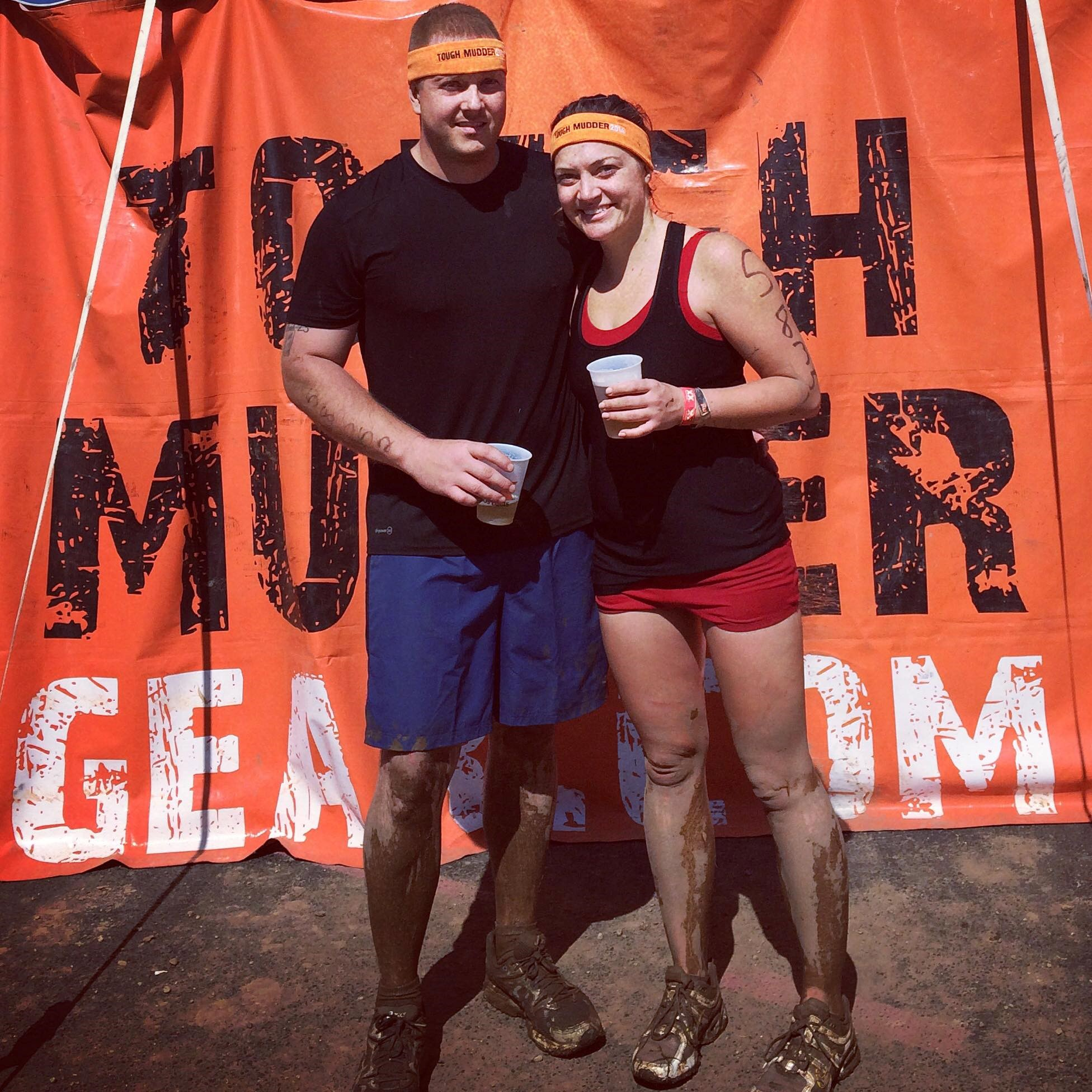 Tough Mudder Finishers! Road America, Elkhart Lake, WI