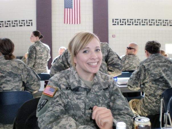 the army national guard was an incredible, life-altering experience for michelle. these are some of the proudest moments in her life.