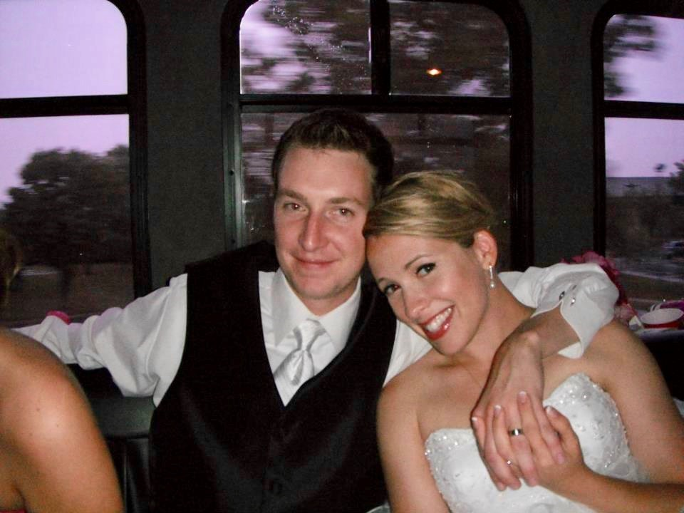 aww.. we were babies back then. but seriously, this photo is both of our most favorite from our wedding day.