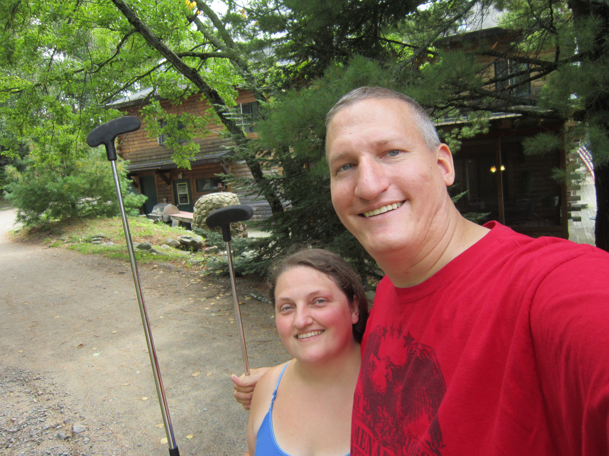 adventure golf at elbow lake lodge in cook, minnesota