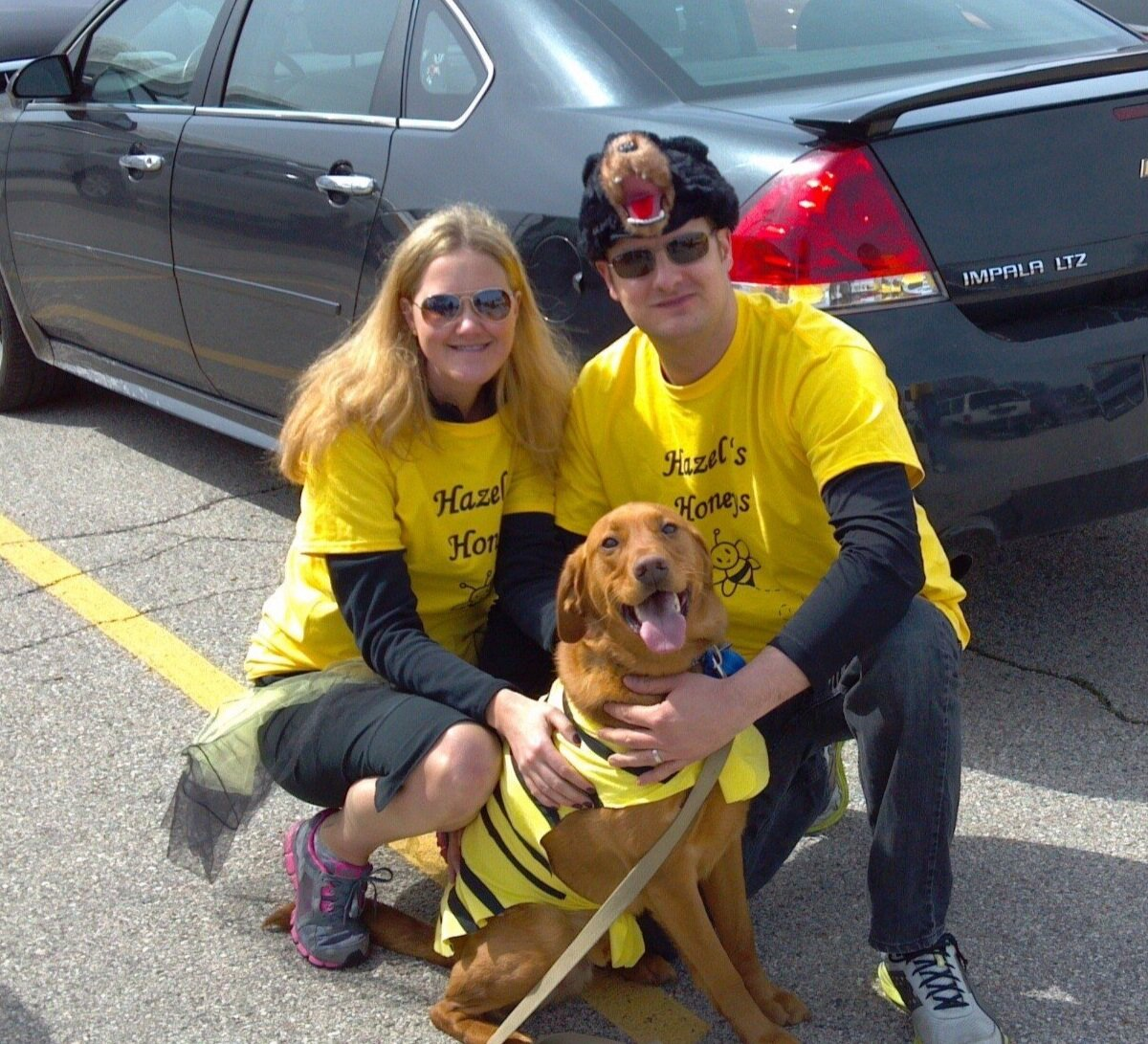 Annual walk for Cystic Fibrosis in support of our friends' daughter, Hazel
