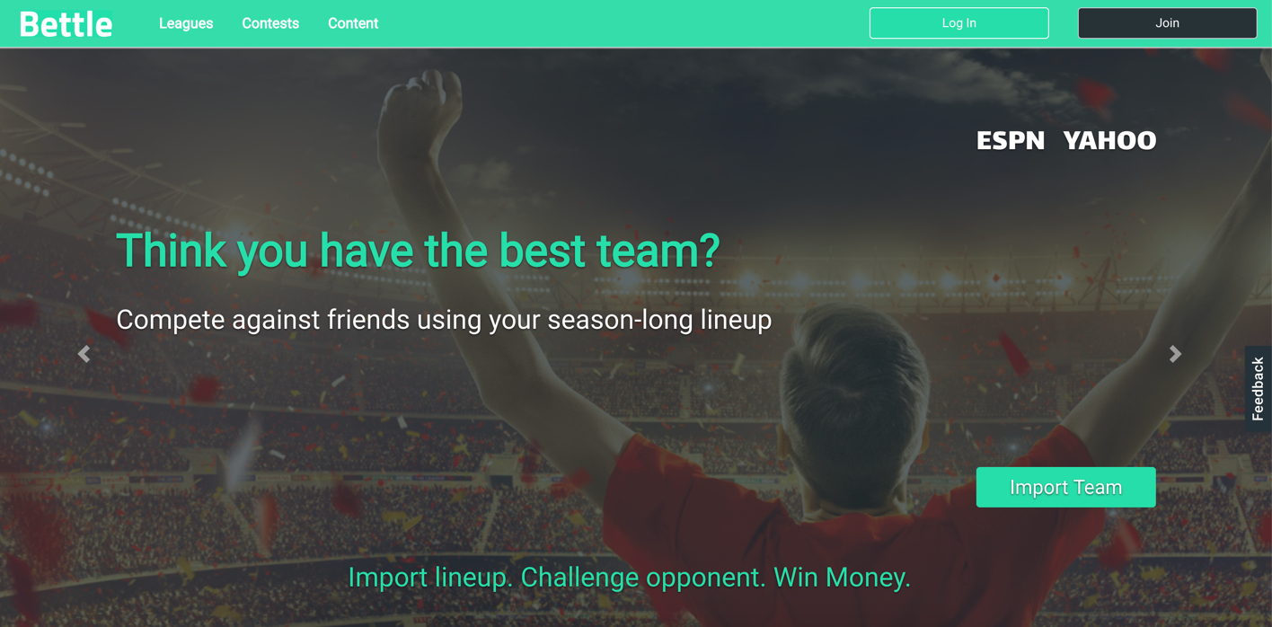 Bettle - Fantasy Sports and Gaming App