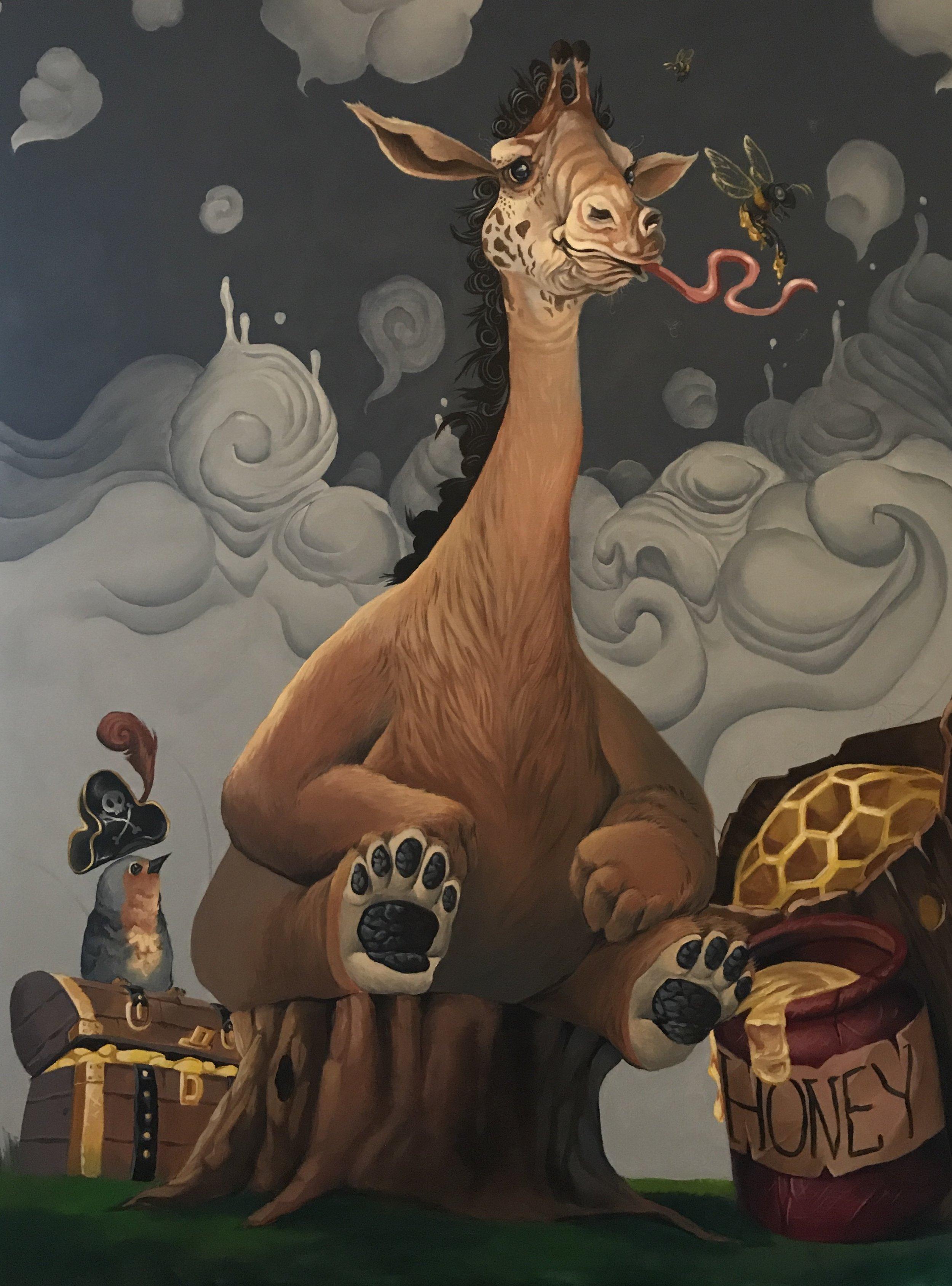 Giraffe Bear