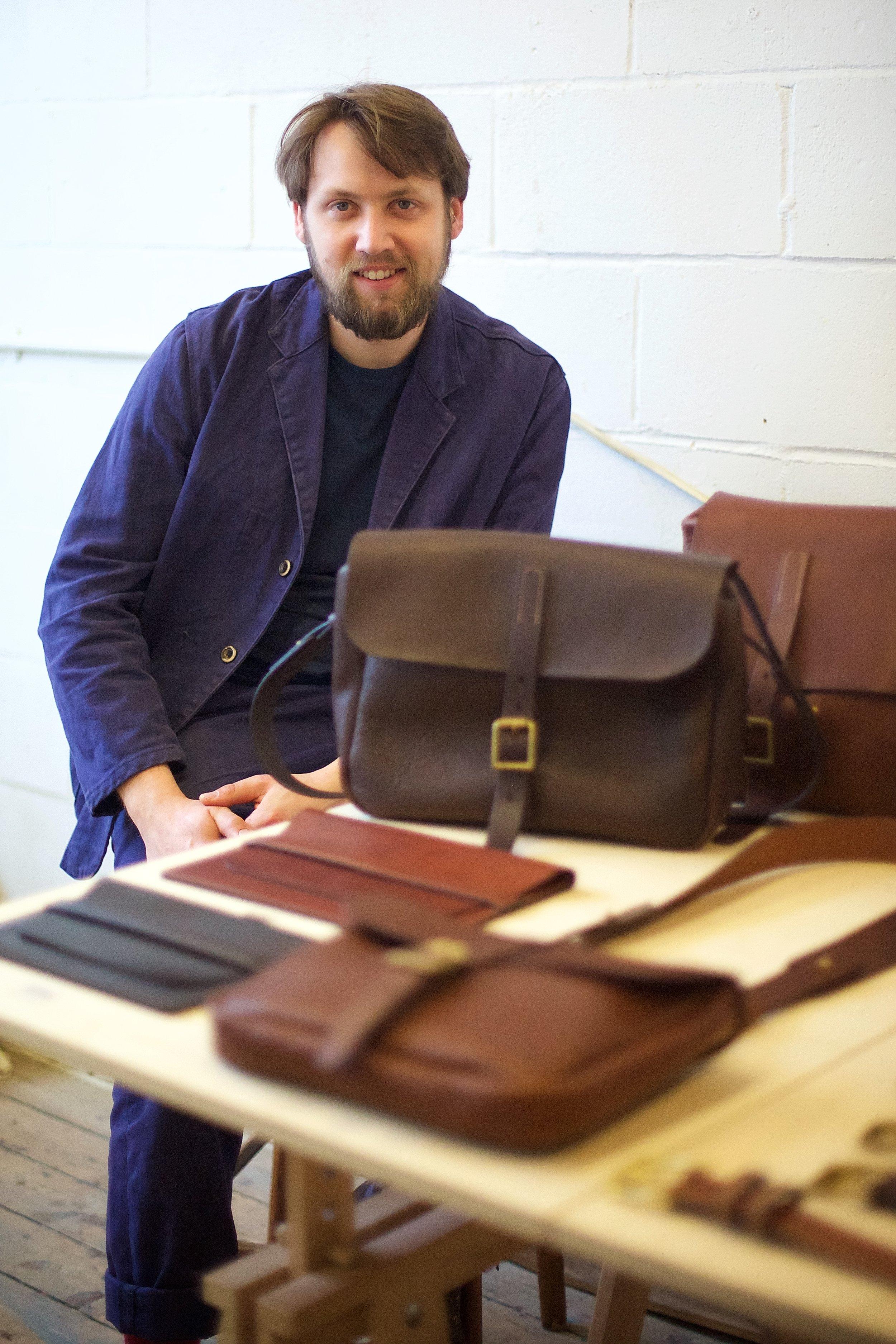 Deptford - Harry Owens at Cockpit Arts Open Studios, photo by Jamie Trounce.jpg