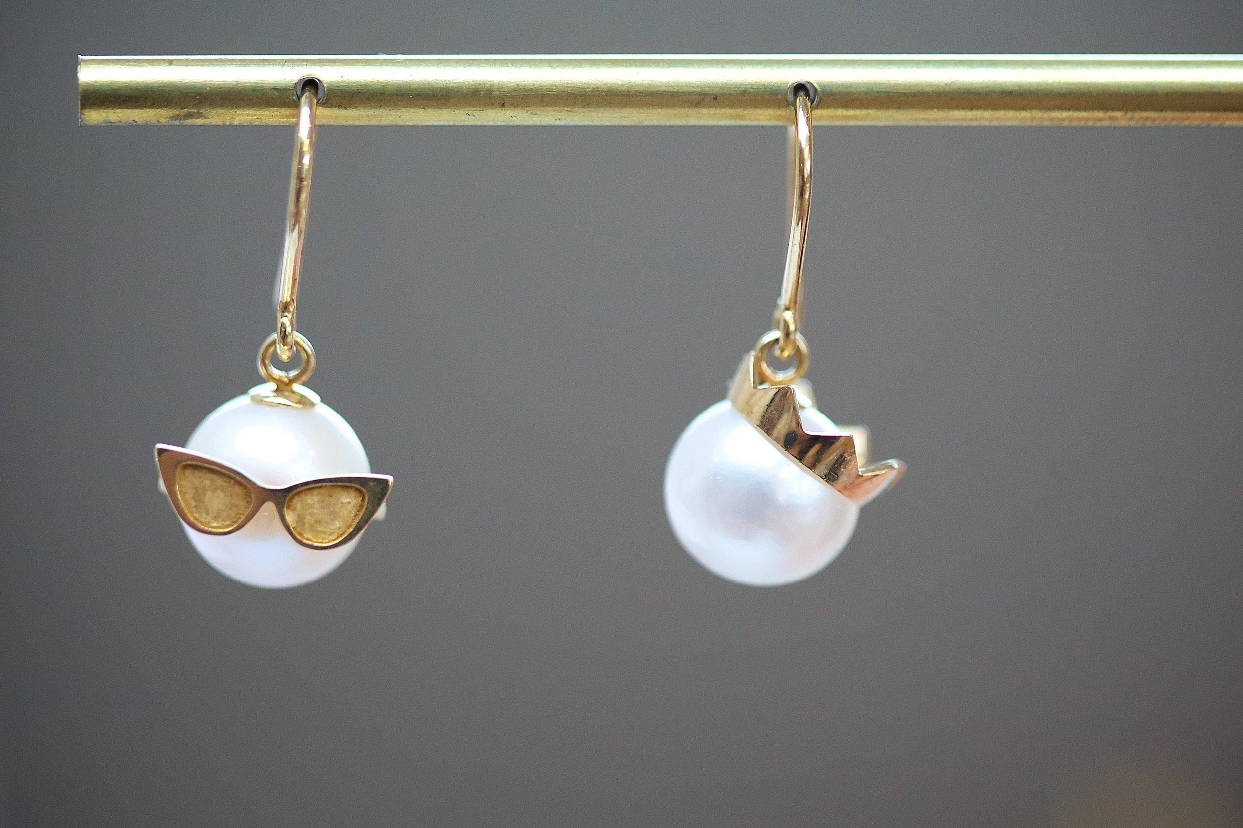 Holborn - Earrings by Frances Wadsworth Jones, Cockpit Arts Open Studios, photo by Jamie Trounce.jpg