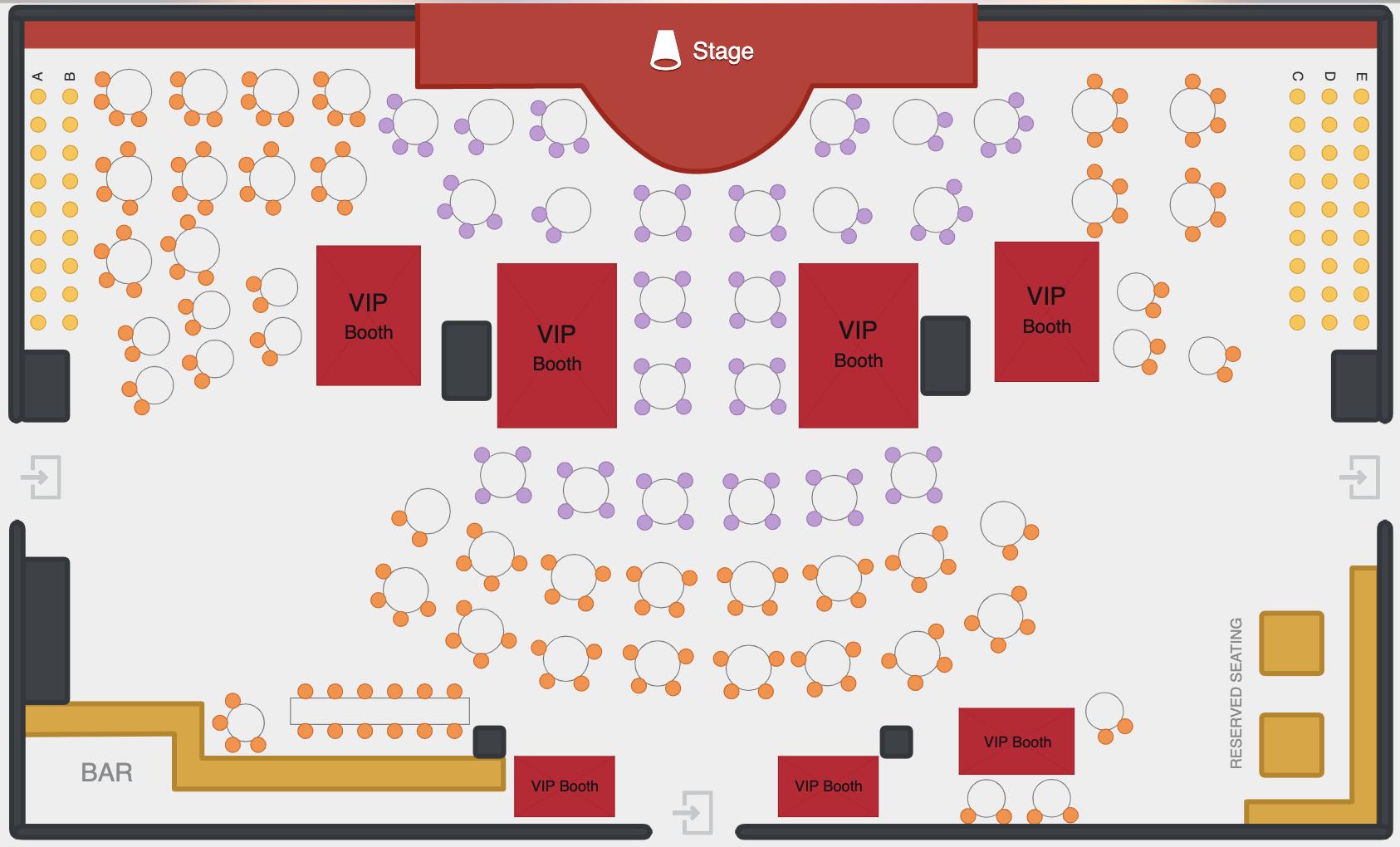 seating floorplan