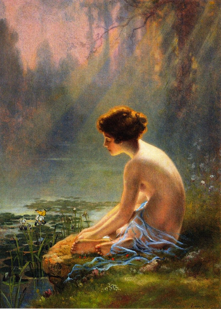 Seated-Nude-at-Lily-Pond-Louis-Comfort-Tiffany-oil-painting-1.jpg