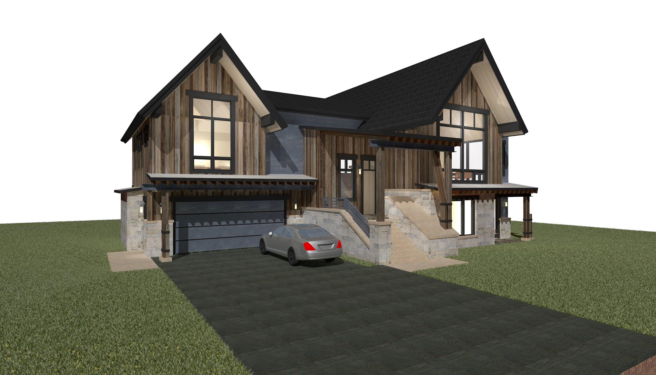 Cottage Rendering