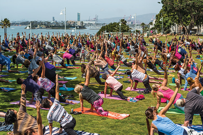 Yoga on the Bluff