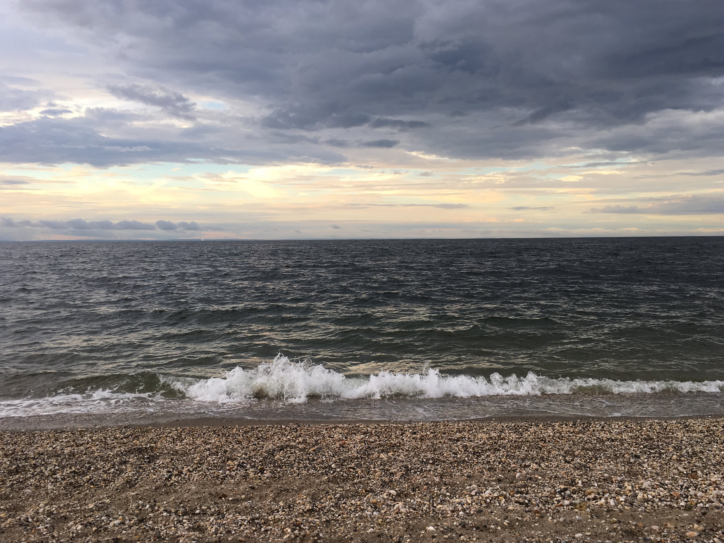 Long island sound, summer 2018