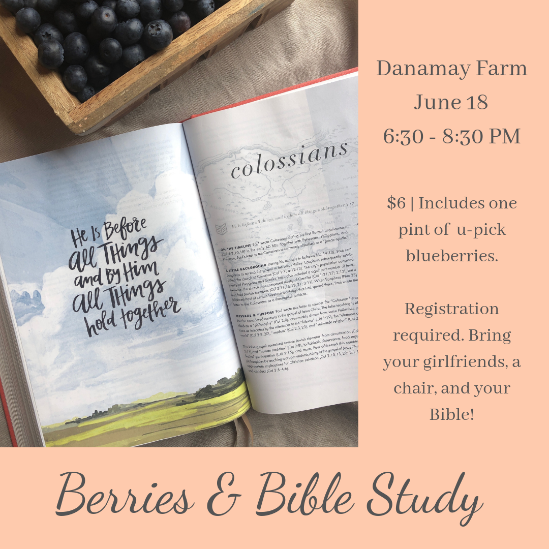Berries & Bible Study Promo