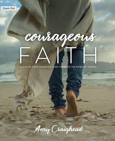 Courageous Faith - Check out the 7-week Bible study for women on the Book of Joshua. You've heard about the walls of Jericho tumbling down, but Joshua's journey with the Israelites is so much deeper.