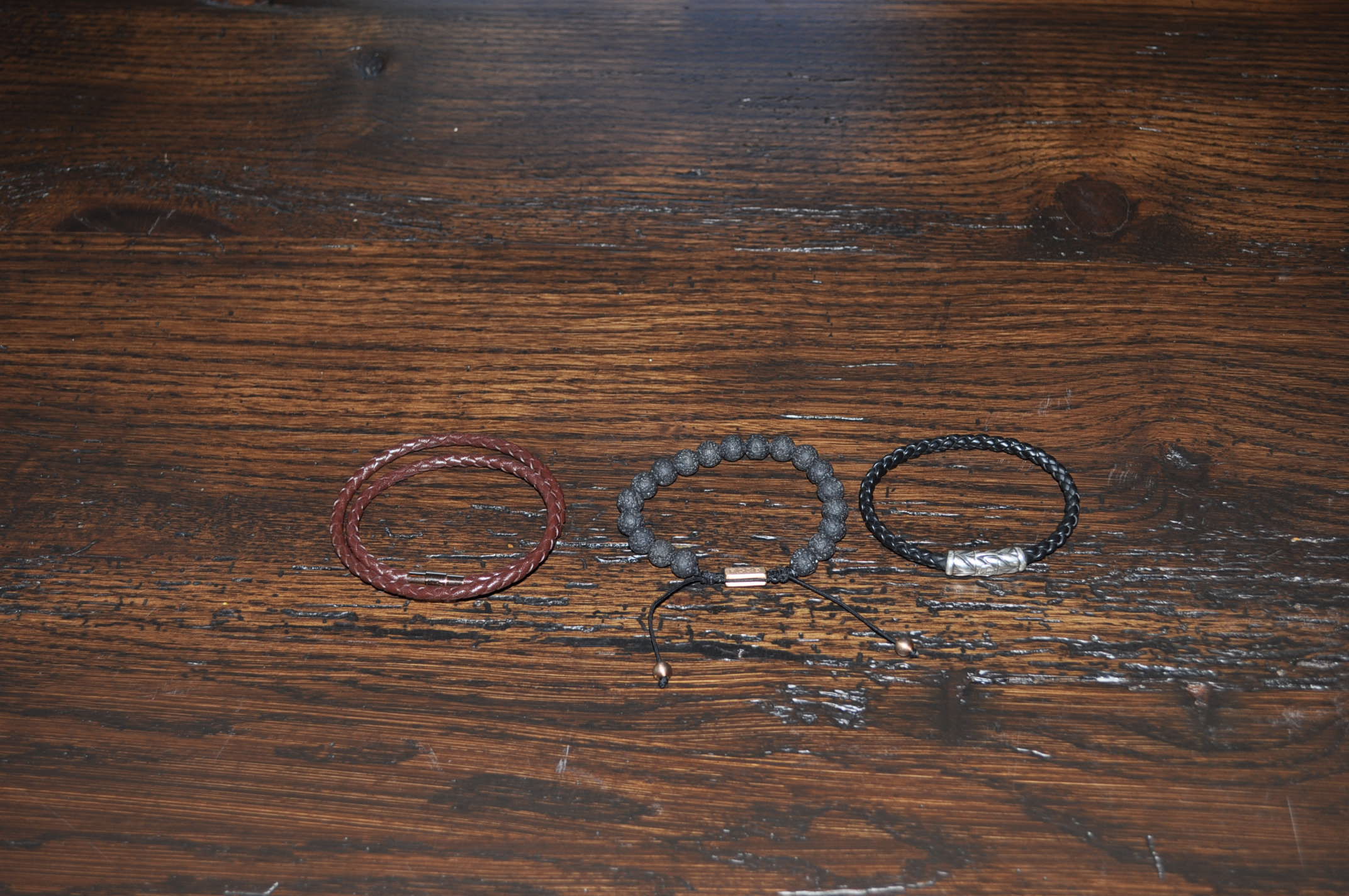 These are the only 3 man bracelets, or
