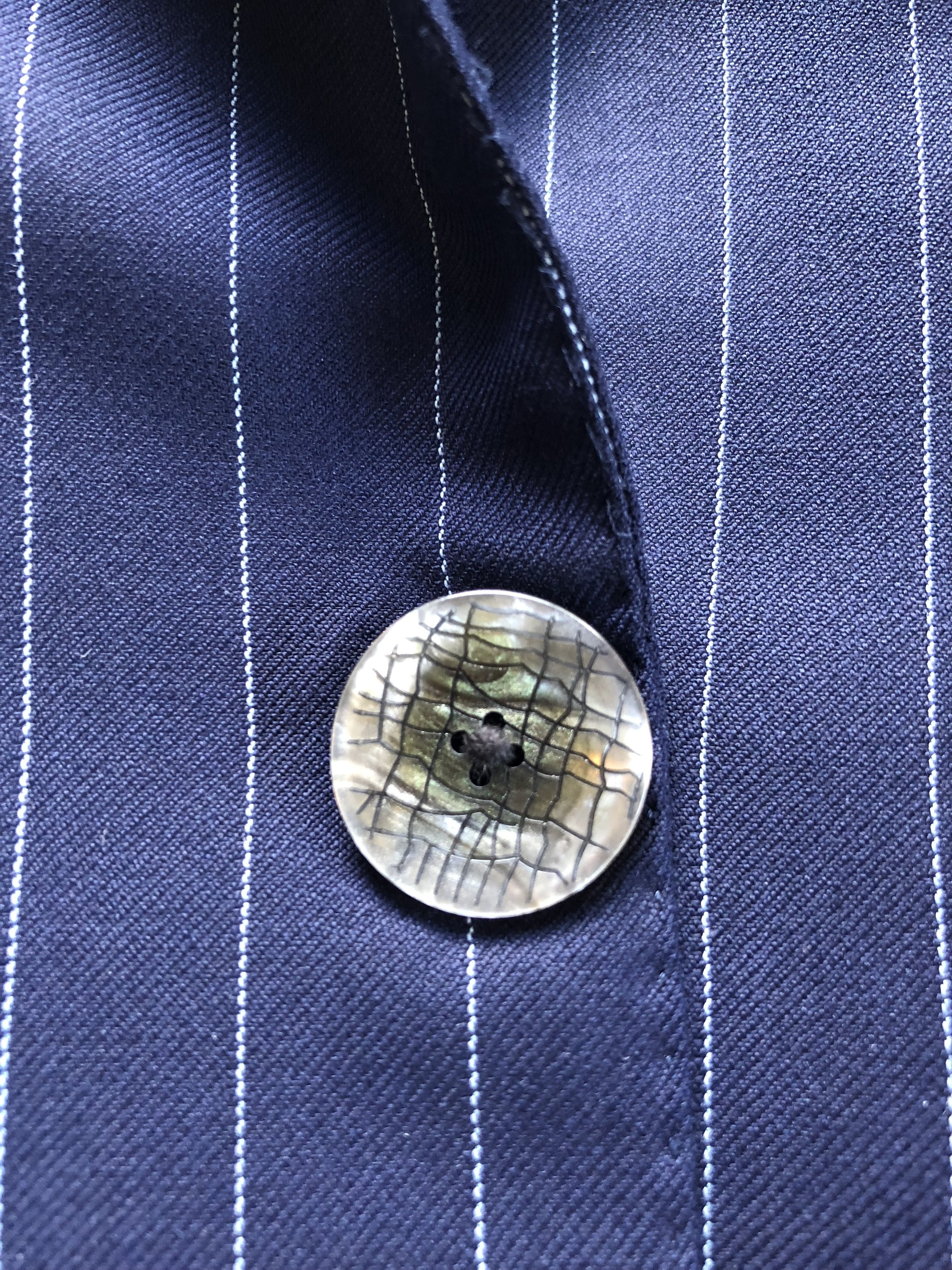 """Save """"loud"""" buttons for jackets you will wear less often. -"""