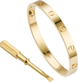- There are very few pieces of jewelry as timeless as a Love bracelet by Cartier.