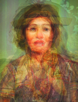 DOUG KEYES    Cindy Sherman , 2014 Archival pigment print on metallic paper 21 x 16 inches Artist Proof #1, signed Retail framed: $2,300 © Doug Keyes; courtesy the artist and G. Gibson Gallery; framing courtesy Artech Fine Art Framing   Learn More