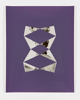JOE RUDKO    Inlaid #4,  2019   Found photograph inlaid in unfixed photo paper 10 x 8 inches Unique, signed Retail framed: $1,000 © and courtesy Joe Rudko     Learn More